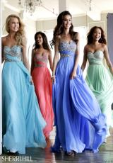 2014 Sherri Hill Strapless Prom Dress 3914
