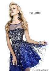 2014 Sherri Hill Short Prom Dress 8525