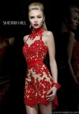 Sherri Hill Unique Homecoming Dress 21213