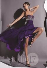 2013 Strapless Studio 17 Prom Dress 12366