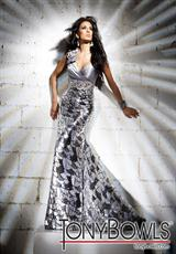 Tony Bowls Evenings TBE11234.  Available in Gold, Silver