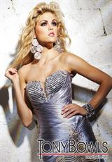 Tony Bowls Evenings TBE11239.  Available in Silver
