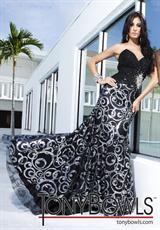 Tony Bowls Evenings TBE11249.  Available in Black/Silver