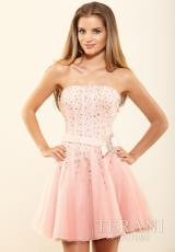 2014 Terani Corset Prom Dress P3032