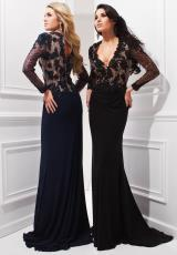 Tony Bowls Evenings TBE21427.  Available in Black/Nude, Navy Blue/Nude