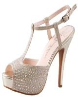 Blossom-Footwear Vice-57.  Available in Black Sparkle, Gold Sparkle, Silver Sparkle