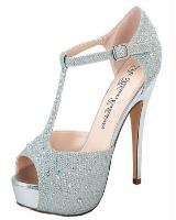 Blossom-Footwear Vice-88.  Available in Black Sparkle, Nude Sparkle, Silver Sparkle