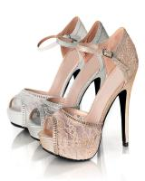 Blossom-Footwear Vice46.  Available in Black Lace, Nude Lace, White Lace