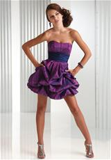 2013 Flirt Short Strapless Prom Dress P5434