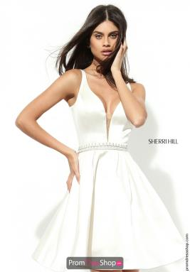 Sherri Hill Short Dress 50495