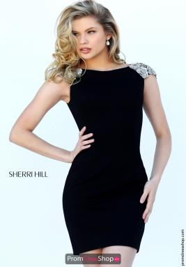 Sherri Hill Short Dress 50640
