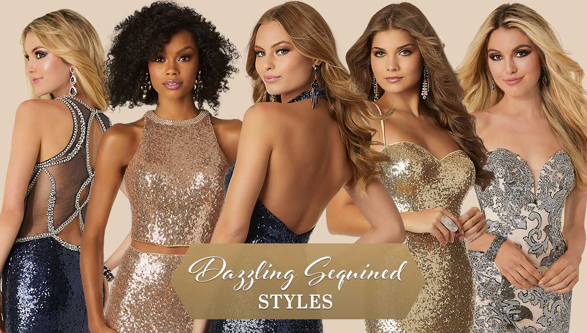 Dazzling Sequined Styles