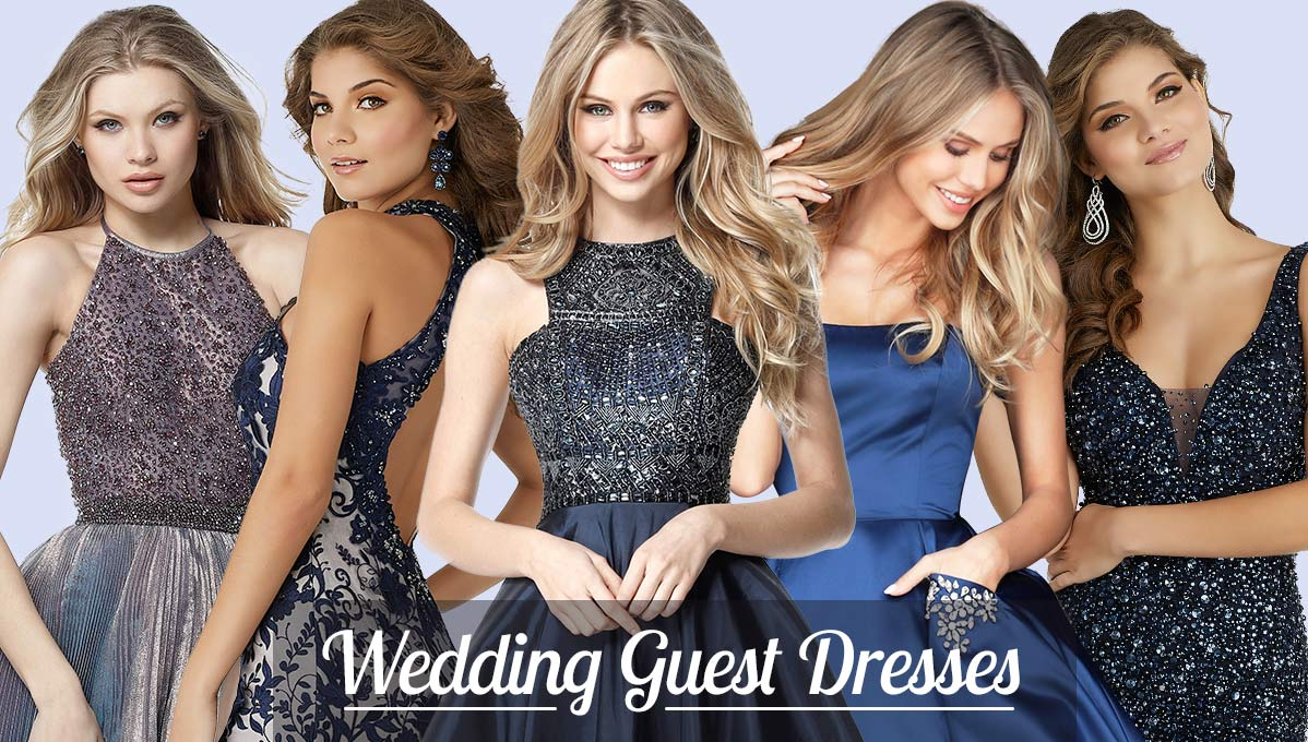 Wedding Guest Dresses at Prom Dress Shop
