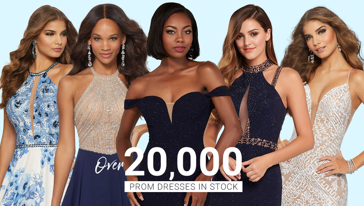 20,000 prom dresses in stock