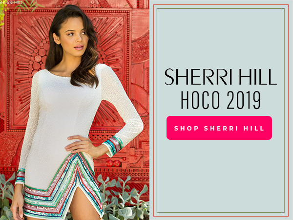 Shop Sherri Hill homecoming dresses