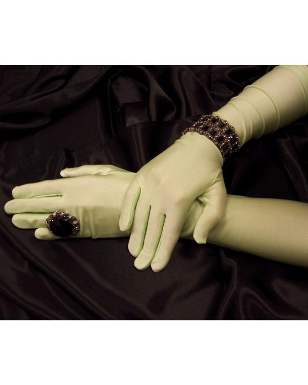 Dramatic Matte Pistachio Gloves