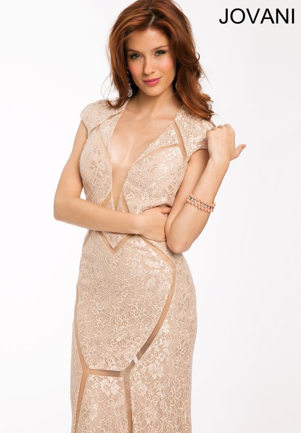 Jovani Sexy Fitted Dress 20565