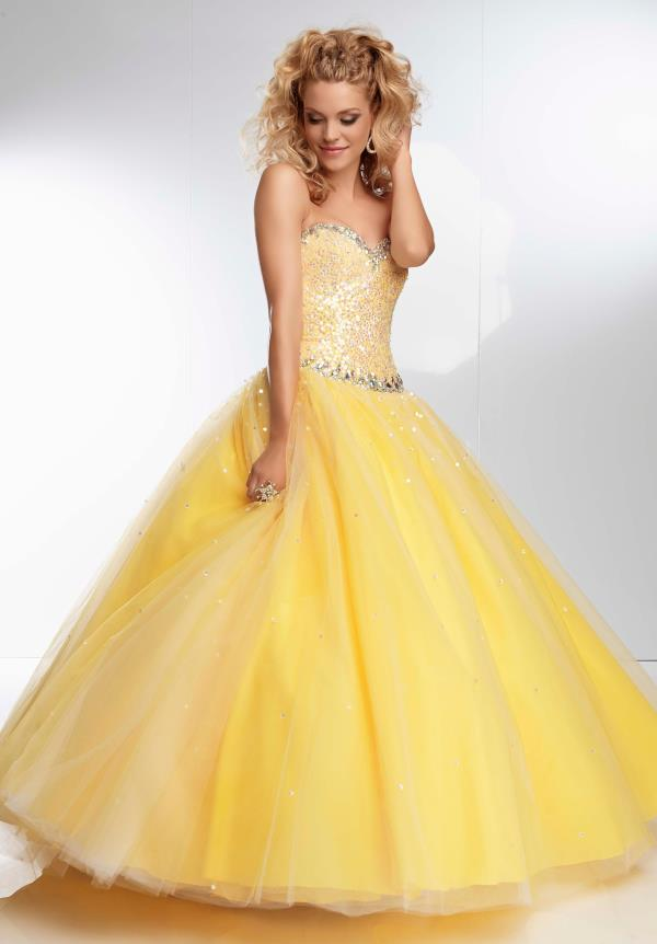 Mori Lee Ball Gown Dress 95102