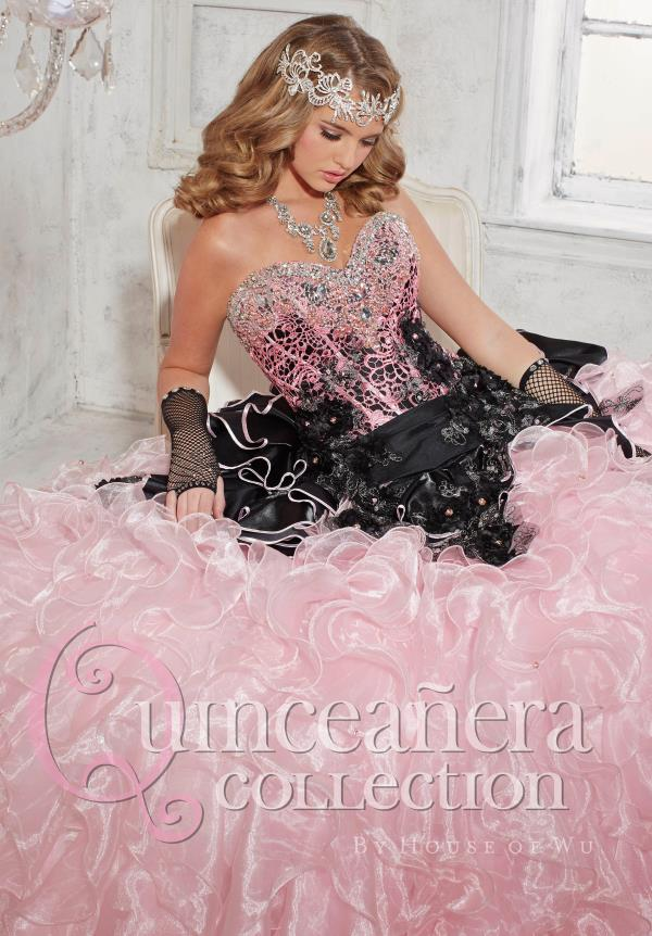 Tiffany Quince 26776 Sweetheart Neckline Dress