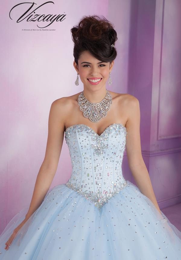 Vizcaya Quinceanera Sweetheart Dress 89017