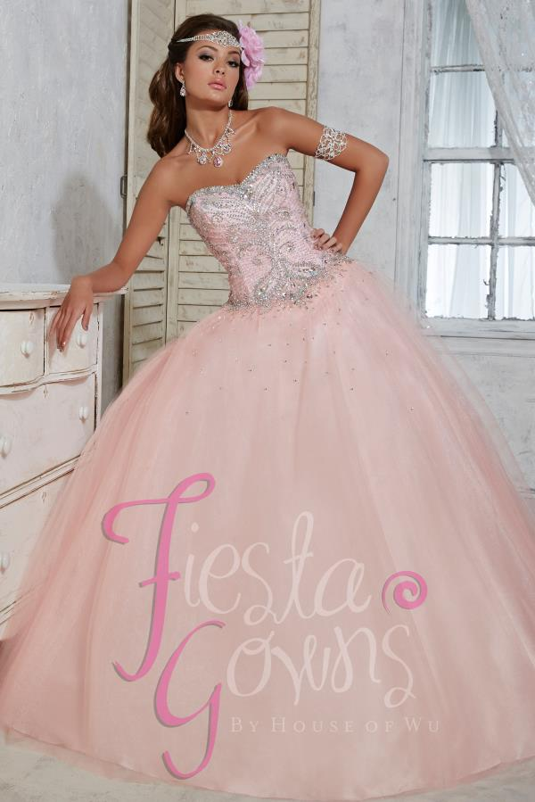 Tiffany Quince Strapless Ball Gown Dress 56266