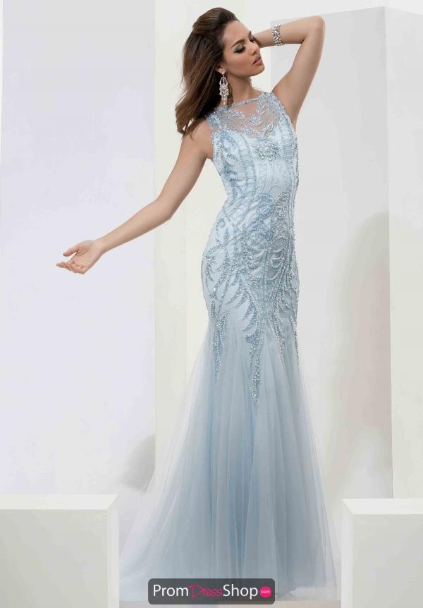 Jasz Couture Open Back Fitted Dress 5610