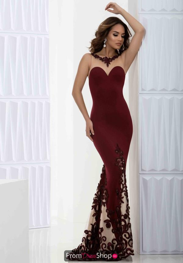 Amazing Long Jasz Couture Dress 5613