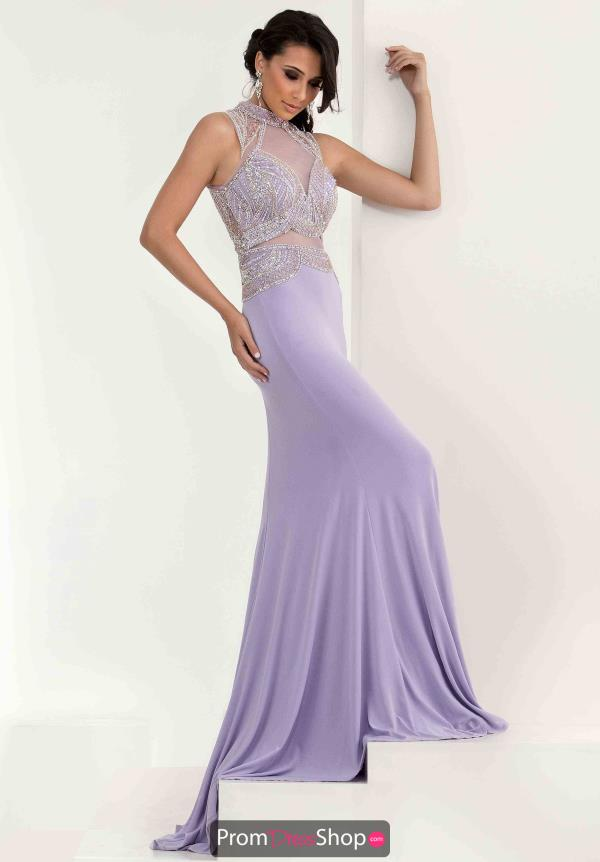 Jersey Fitted Jasz Couture Dress 5621