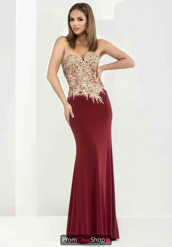 Strapless Long Jasz Couture Dress 5647