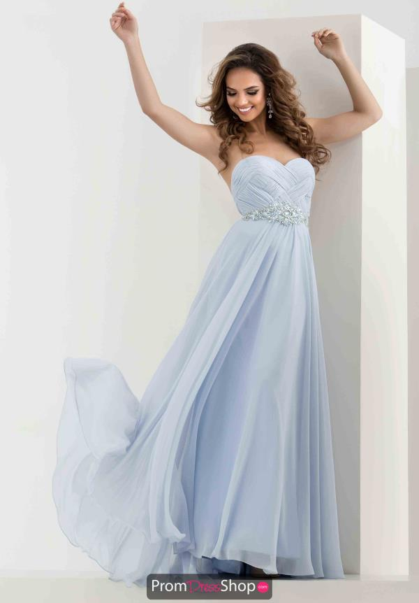 Jasz Couture Strapless Long Dress 5668