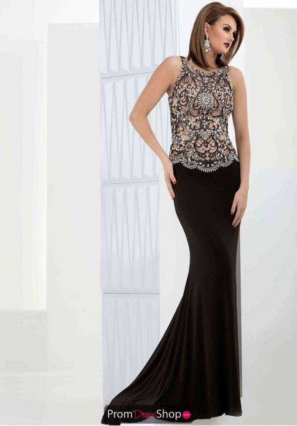 Jasz Couture Beaded Long Dress 5690