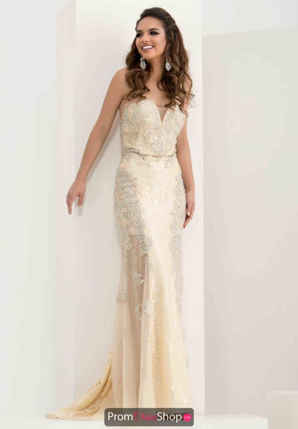 Jasz Couture Fitted Long Dress 5717