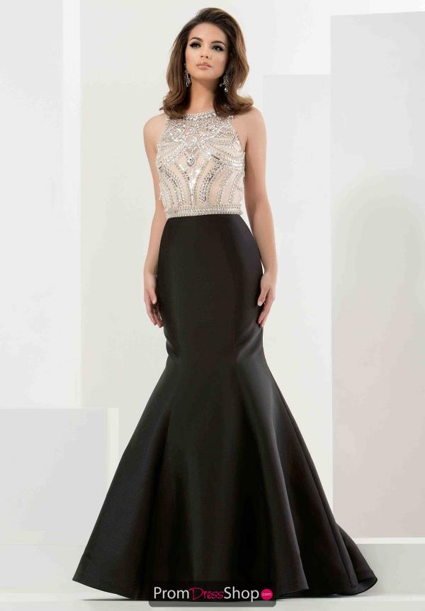 Stunning Mermaid Jasz Couture Black Dress 5734