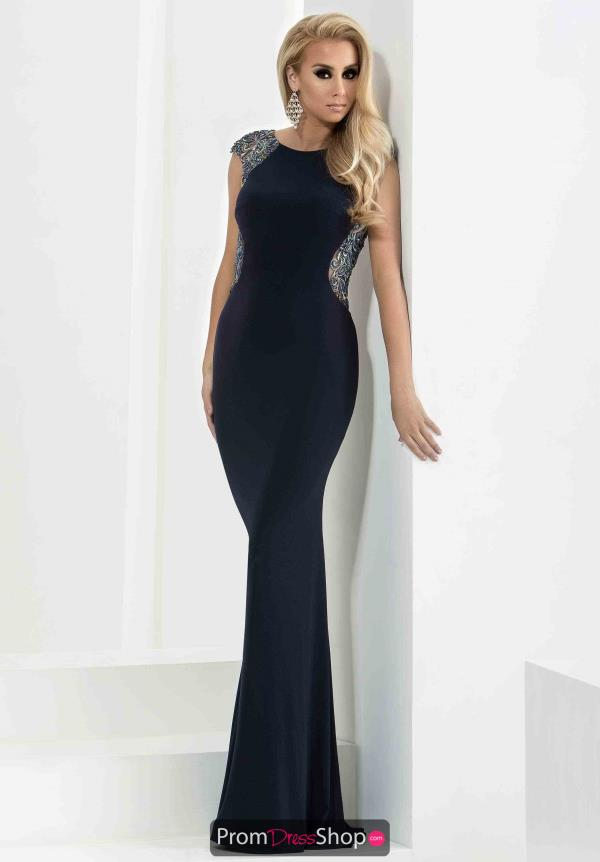 Jasz Couture Long Sexy Dress 5800