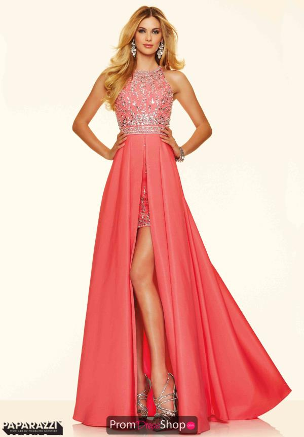 Amazing High Neckline Mori Lee Dress 98001