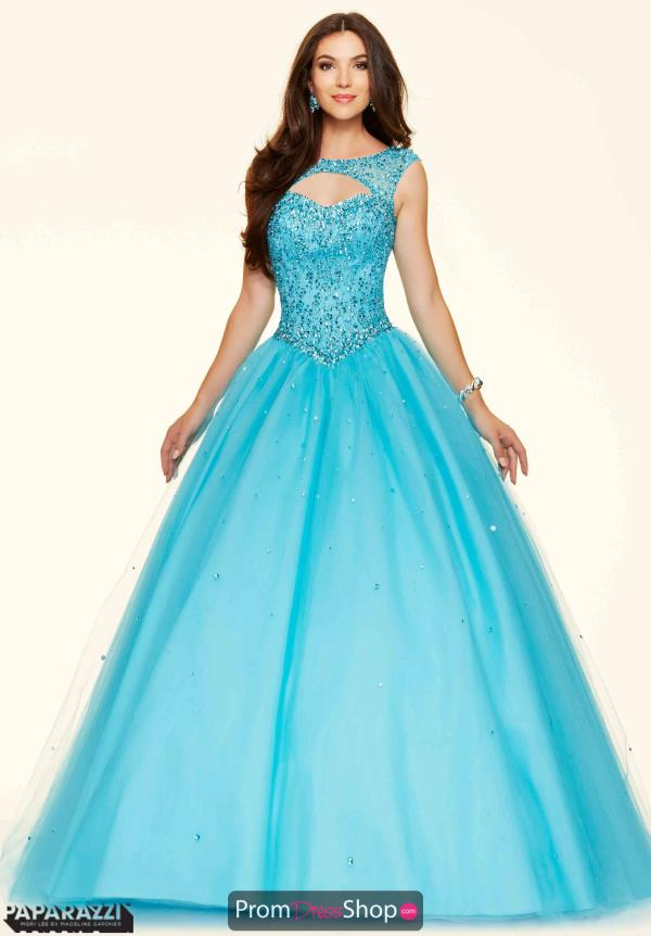 Mori Lee Tulle Sweet 16 Beaded Dress 98033