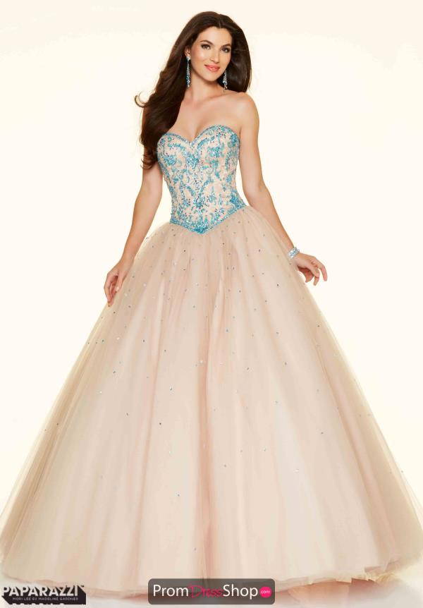 Sweet 16 Mori Lee Plus Size Dress 98059