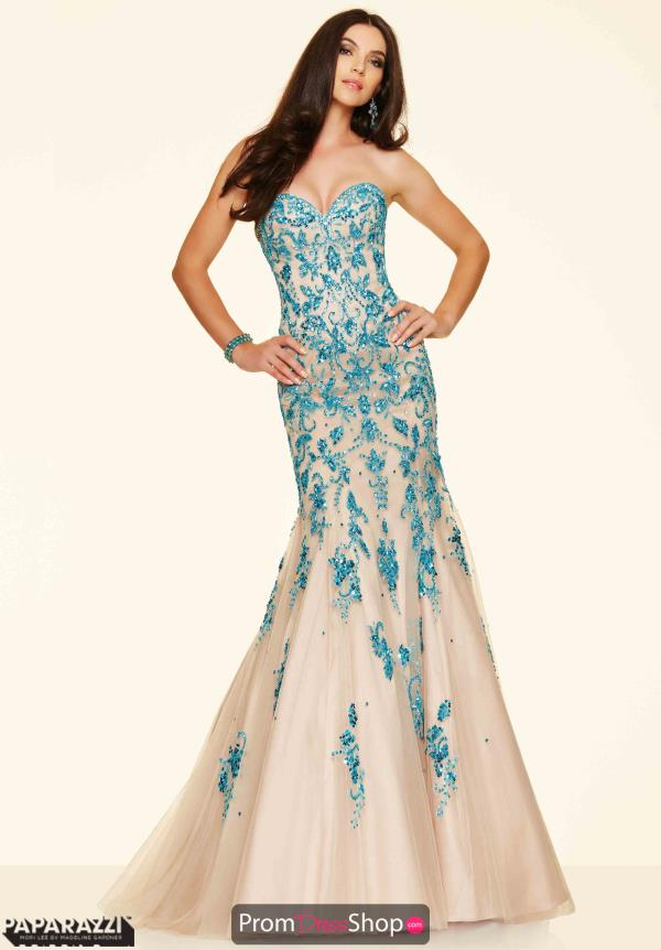 Mori Lee Beaded Mermaid Dress 98060