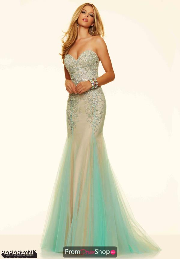 Mori Lee Long Fitted Dress 98089