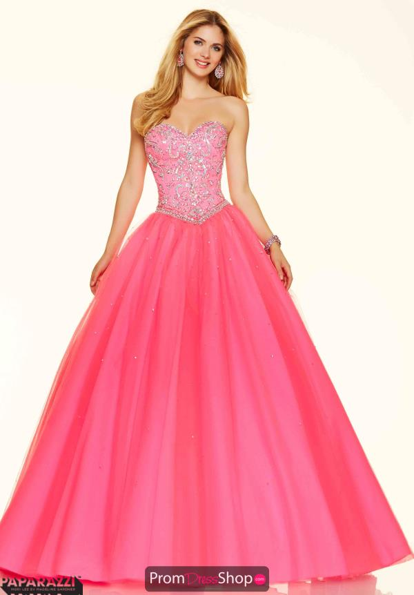 Mori Lee Beaded Sweetheart Neckline Dress 98120