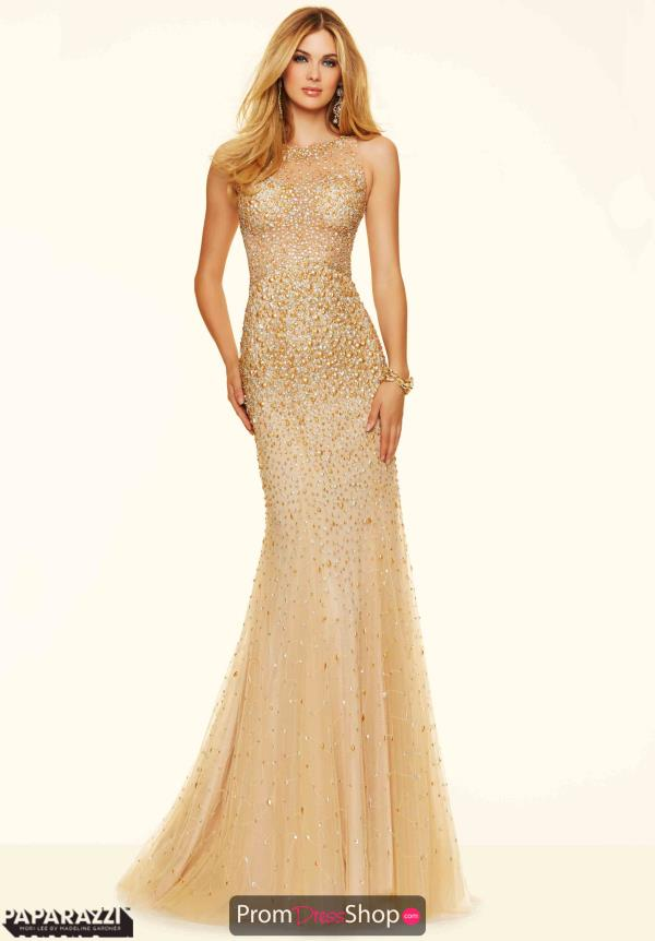 Mori Lee Fitted Special Occasion Dress 98139