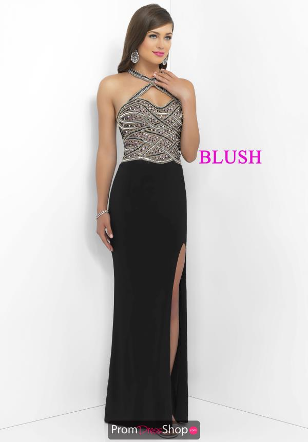 Blush Jersey Long Dress 11030