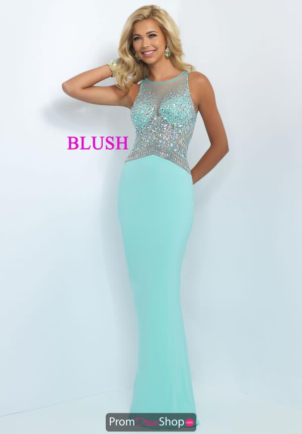 Fitted Jersey Blush Dress 11064