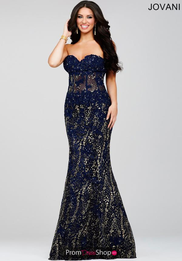 Jovani Beaded Long Dress 21470