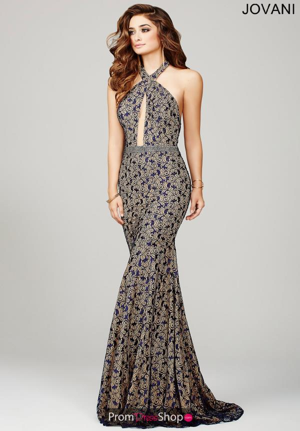 Jovani Long Fitted Dress 32457