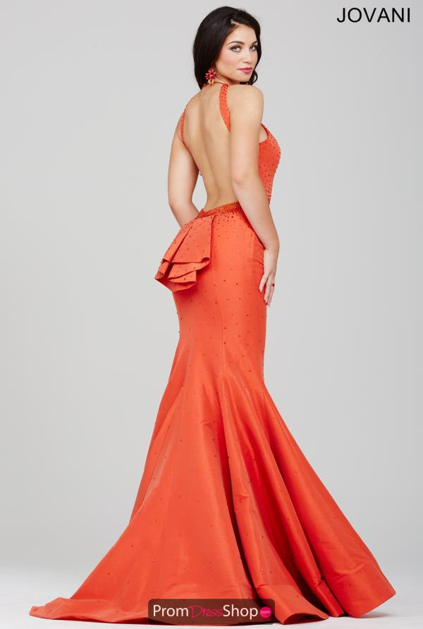 JVN by Jovani Sexy Open Back Dress JVN33064