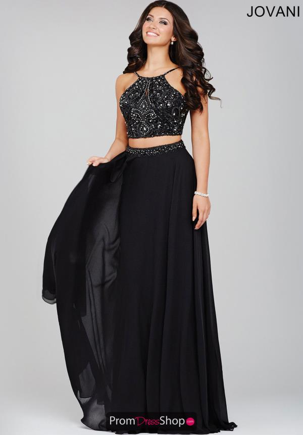 Jovani Two Piece A Line Dress 33848