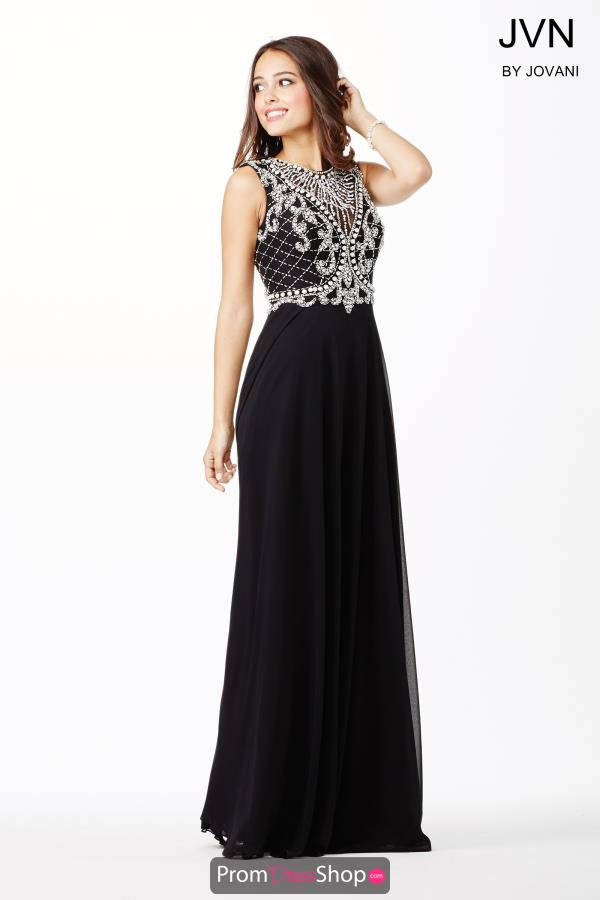 Open Back Chiffon JVN by Jovani Dress JVN31435