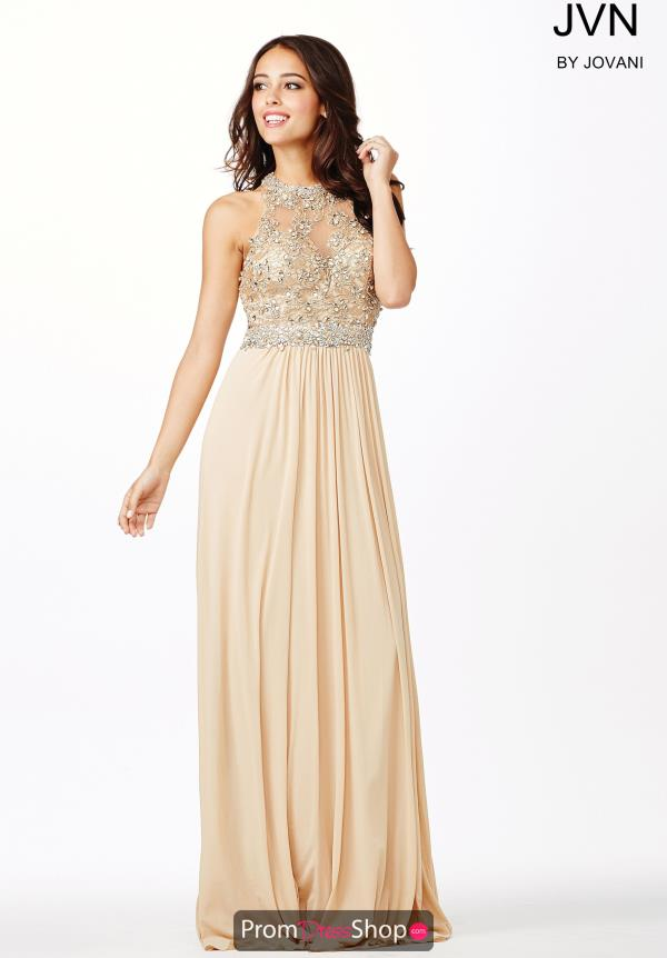 JVN by Jovani Long Chiffon Dress JVN31447