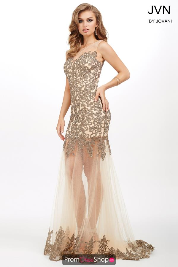 JVN by Jovani Long Beaded Dress JVN31496